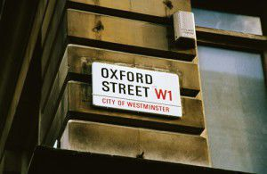 Oxford Street - great for shopping!
