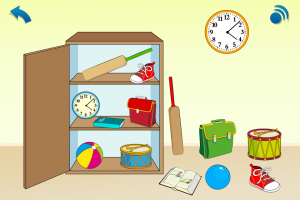 Maths, age 3-5: Where is it?