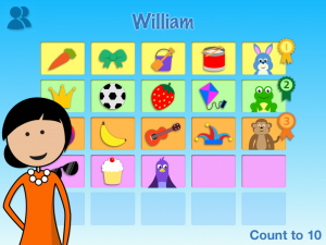 Counting to 10 maths practice app