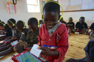 Children studying at Biwi school, Lilongwe, Malawi