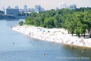 The beach at Kiev