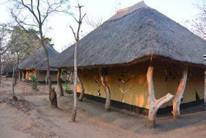A hut in Malawi
