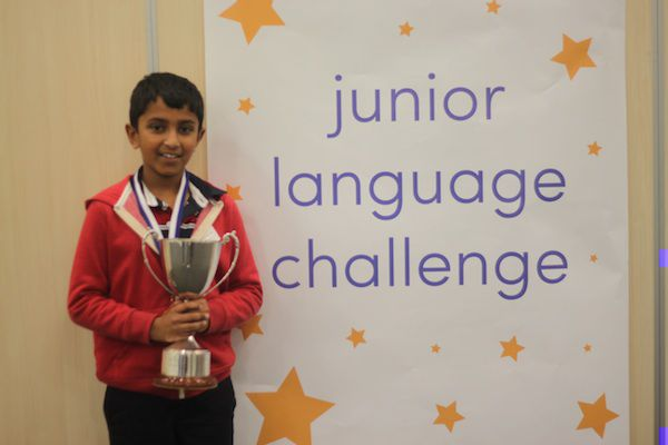 EuroTalk Junior Language Challenge Champion 2014