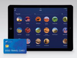 Win a travel card worth $100 and a free uTalk Premium