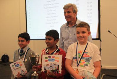 EuroTalk Junior Language Challenge winners 2014