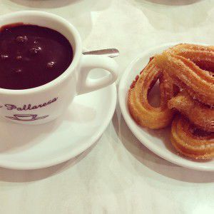 Churros in Barcelona