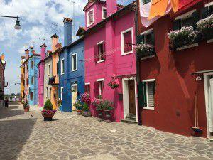 Houses on Burano
