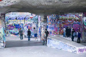 Graffiti - from 'scratched' in Italian