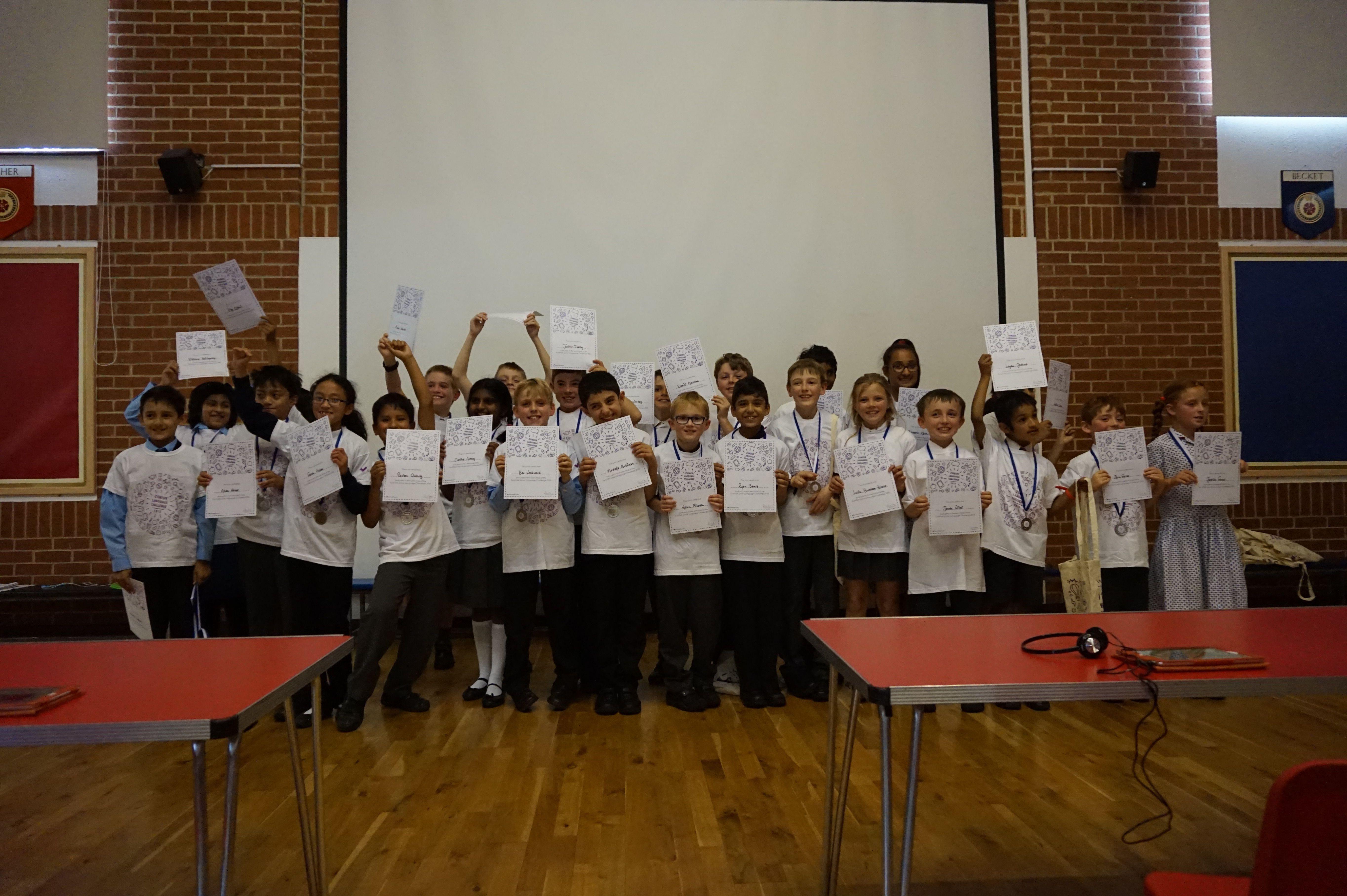 Junior Language Challenge semi-finals
