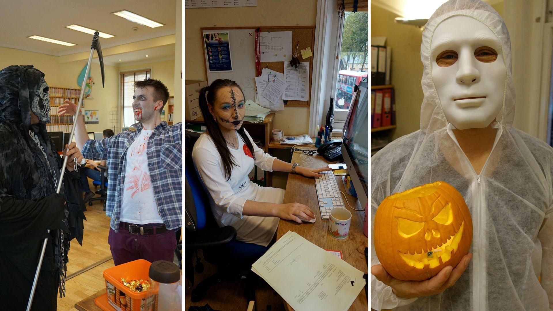 Halloween fun at EuroTalk