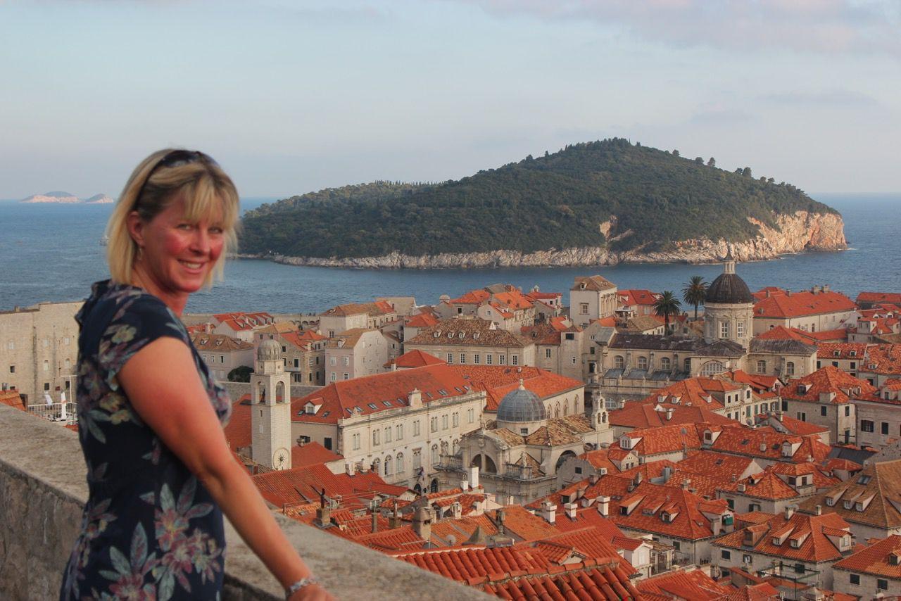 Jacqui in Dubrovnik