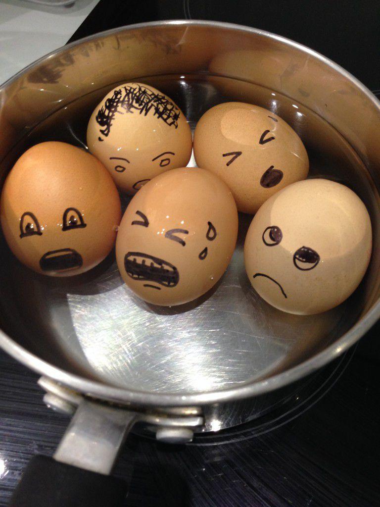 Drowned eggs