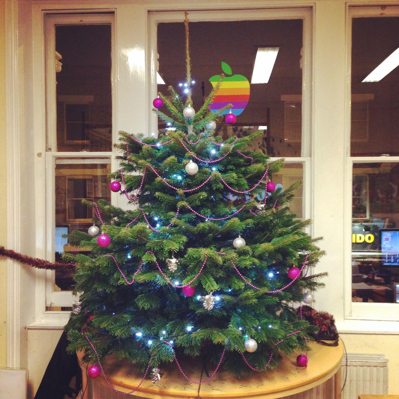 EuroTalk Christmas tree