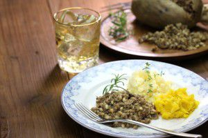 haggis, neeps, and tatties