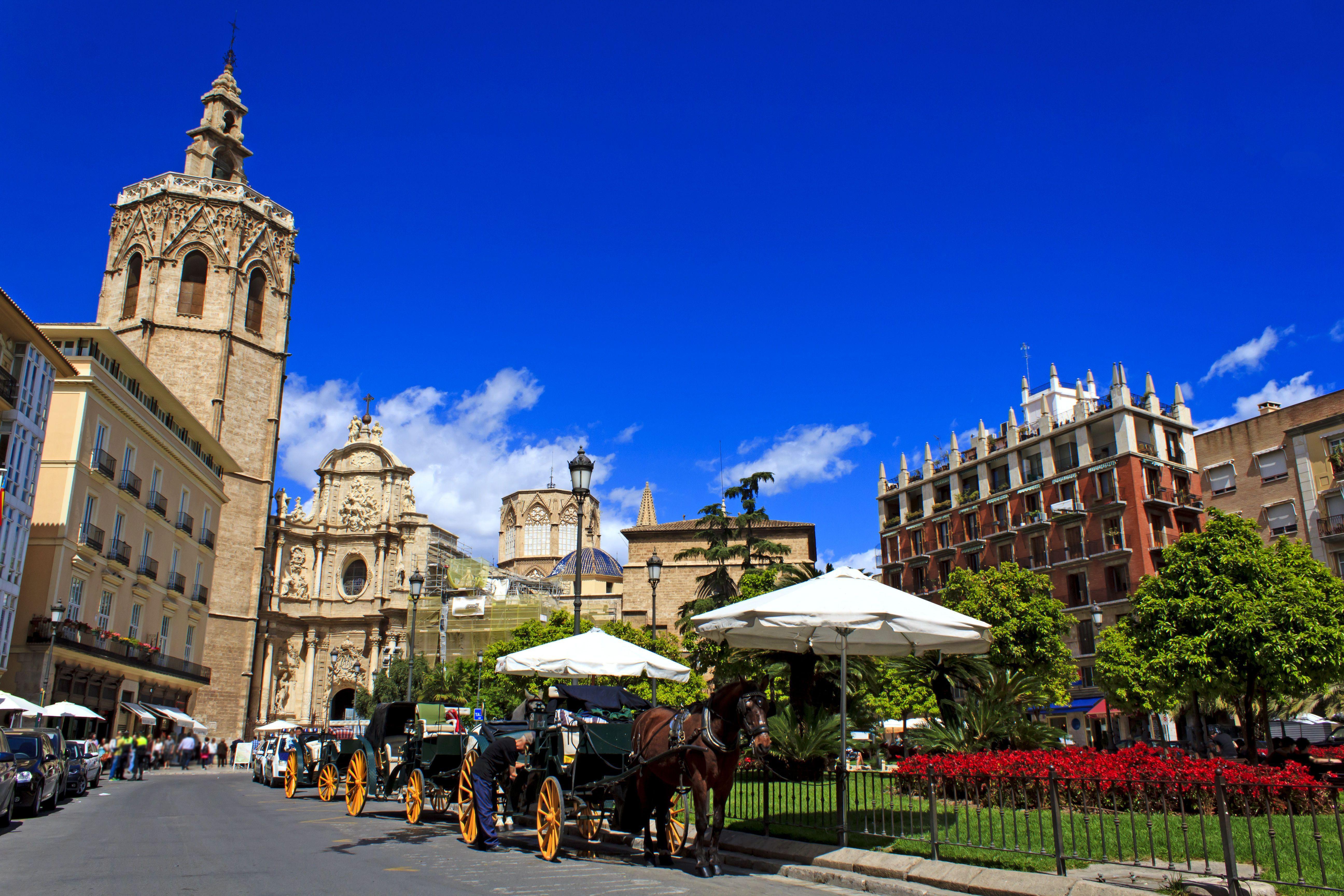 Plaza de la Reina in Valencia