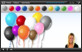 Congratulations! You correctly coloured in all of the balloons in the 'colours' game.